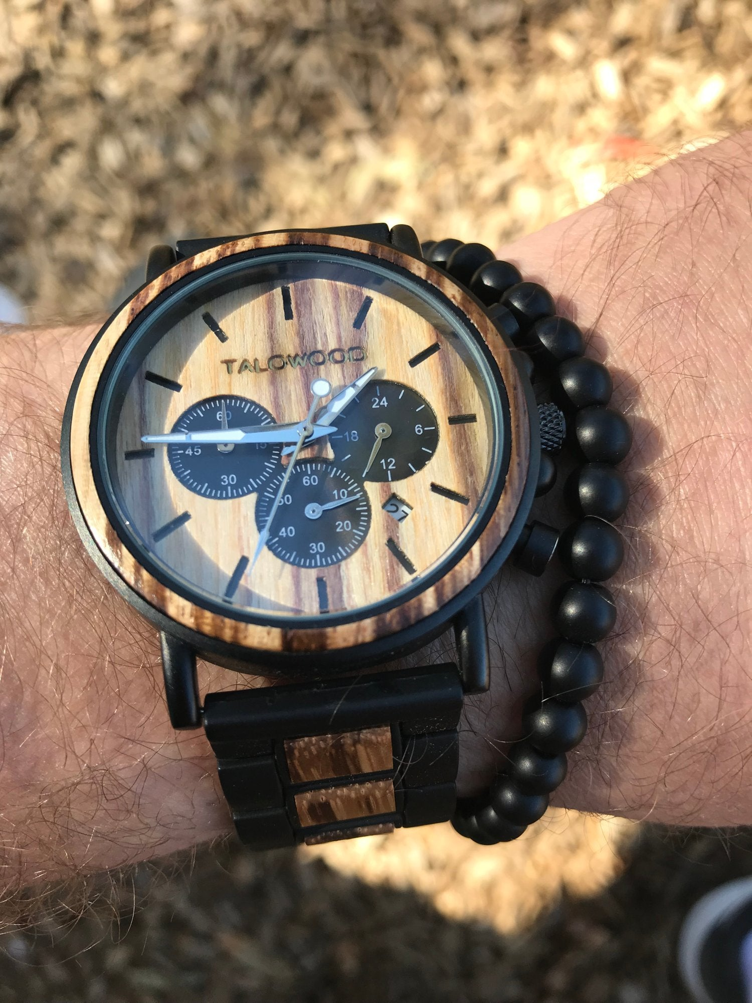 Best handcrafted wood watch
