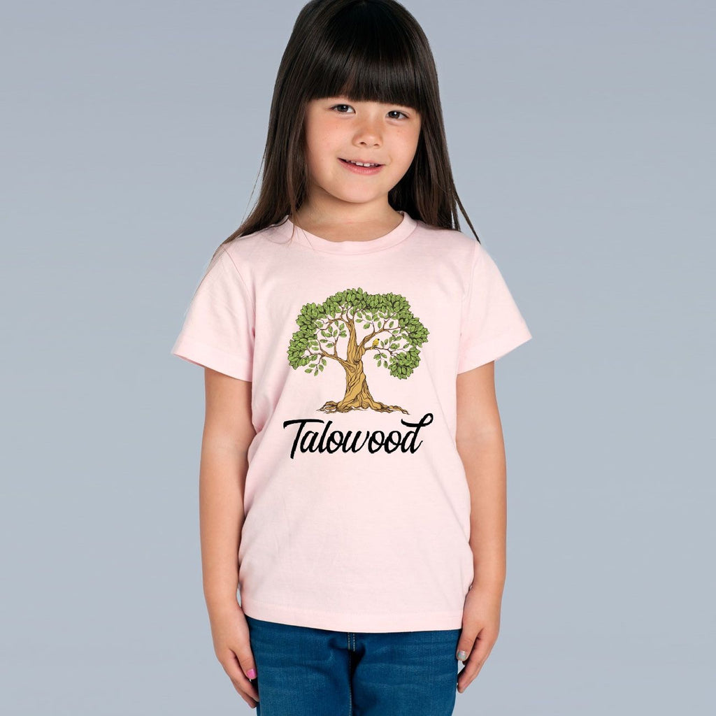 TALOWOOD KIDS TREE PLANTER ORGANIC COTTON TEE