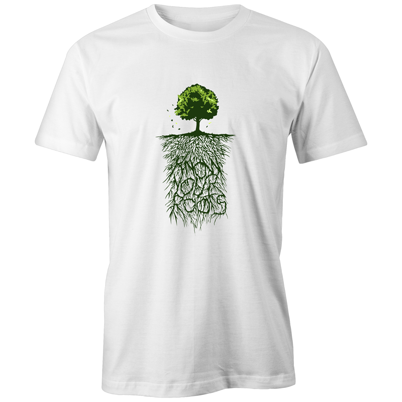 KNOW YOUR ROOTS- UNISEX FAIRTRADE ORGANIC COTTON TEE