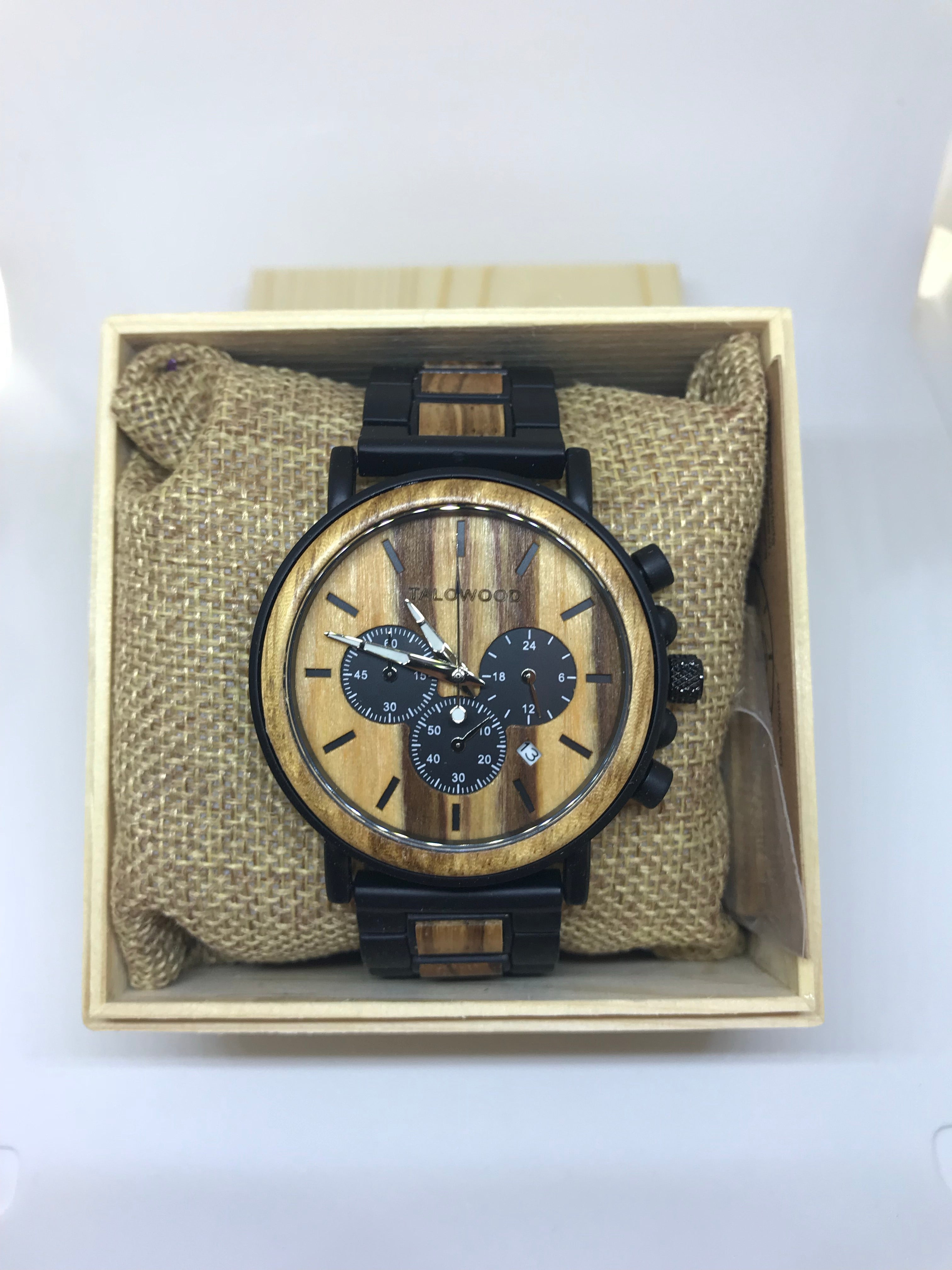Best Chronograph timber eco friendly watch