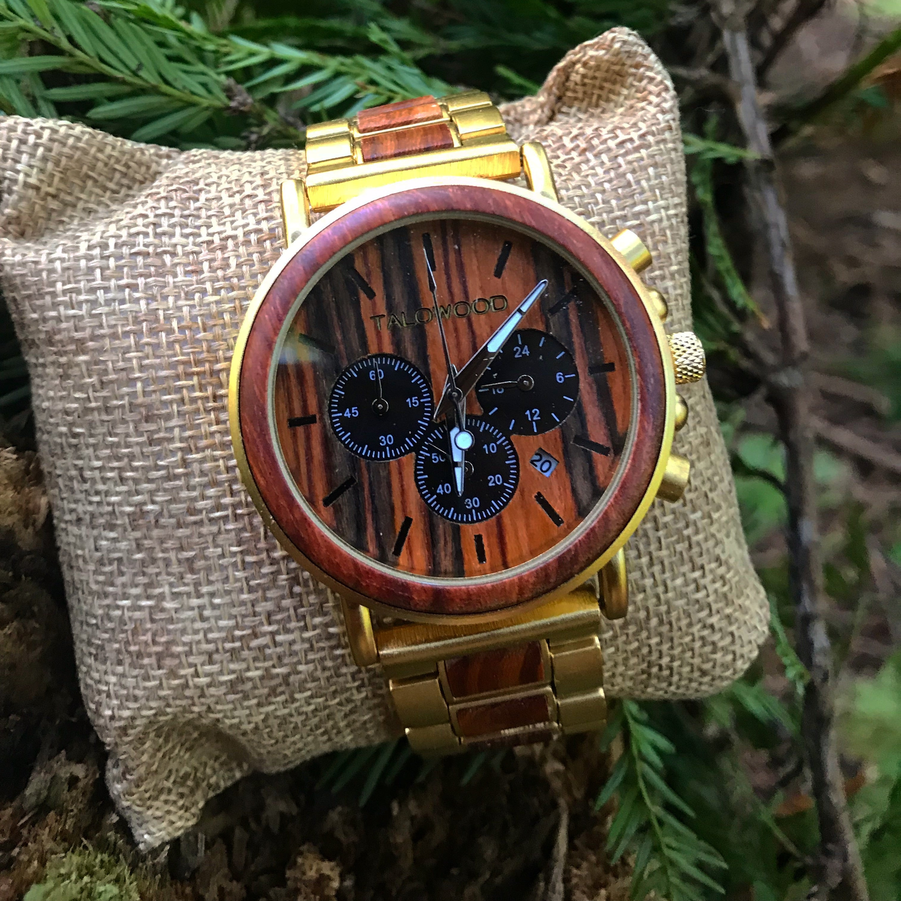 Sustainable timber watch