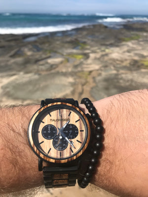 Best Australian Chronograph timber eco friendly watch