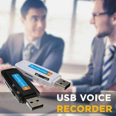 【50% OFF+FREE SHIPPING】USB Voice Recorder