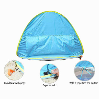 【50% OFF+FREE SHIPPING】Baby Beach Tent UV-protection Sun Shelter