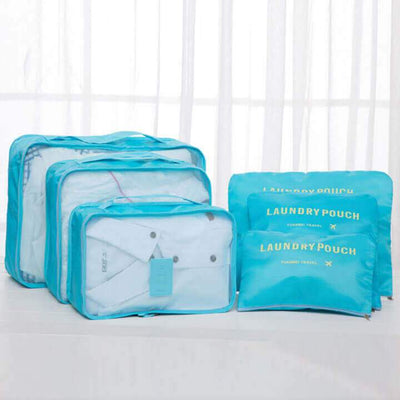 【50% OFF+FREE SHIPPING】Luggage Packing Organizer (Set of 6)