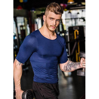 【buy 2 get extra 10% OFF+FREE SHIPPING】Body Build Compression Men Shirt - Emakegoodlife