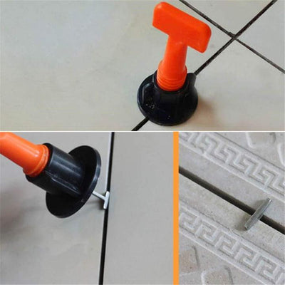 【LAST DAY PROMOTION 50% OFF + Free Shipping】Reusable Anti-Lippage Tile Leveling System (50 Pcs/ Pack)