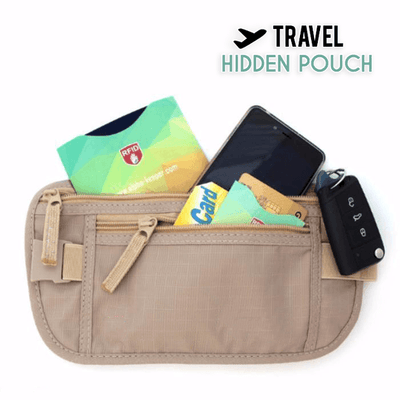 【BUY 2 GET EXTRA 10%OFF+FREE SHIPPING】Travel Hidden Waist Pouch
