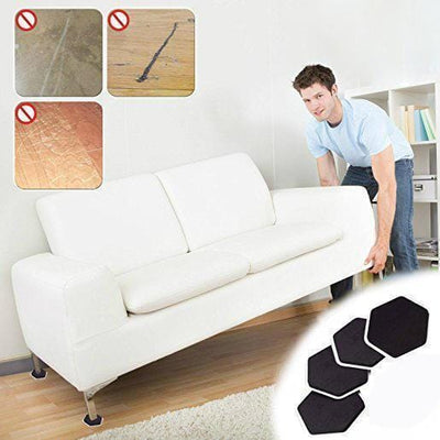 【Buy 2 Get Extra 10% Off + Free Shipping】Magic Furniture Moving Sliders (Set of 4 Pcs)