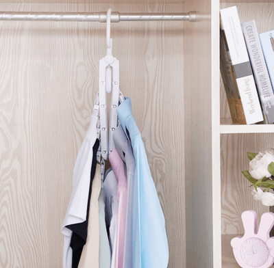 Magic Folding Clothes Hangers, 8 in 1, 360 Degree Rotation (EXTRA 20% OFF)