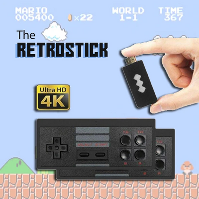 The RetroStick - 568 in 1 - 8 Bit Console - TopQuickSell