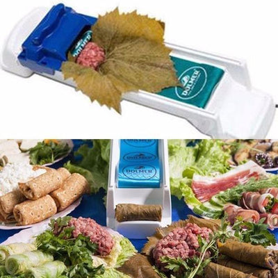 【50% Off + Free Shipping】Magic Stuffed Grape & Vegetable Meat Rolling Tool- Yaprak, Sarma, Dolma Roller Machine