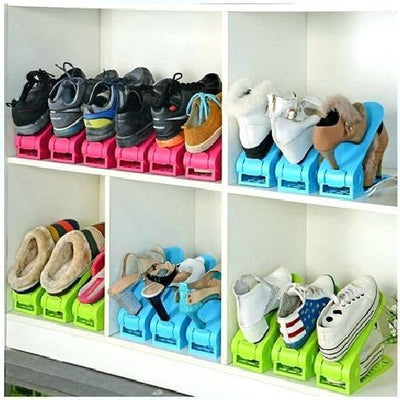 【50%OFF+FREE SHIPPING】Double Deck Shoe Rack