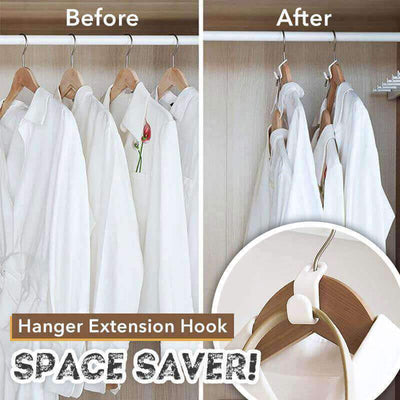 【buy 2 get extra 10% OFF+FREE SHIPPING】Closet Hanger Space Saver Extension Hook