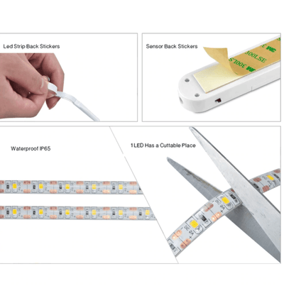 【BUY 2 GET EXTRA 10%OFF+FREE SHIPPING】LED MOTION SENSOR WATERPROOF LIGHT BELT