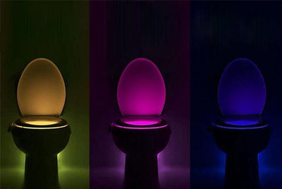 【50% OFF+FREE SHIPPING】LED Night Toilet Light with Motion Sensor