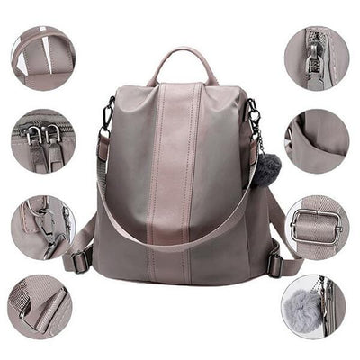 【🔥🔥Buy 2 Get Extra 10% Off + Free Shipping】Women Nylon Waterproof Anti-theft Lightweight Backpack