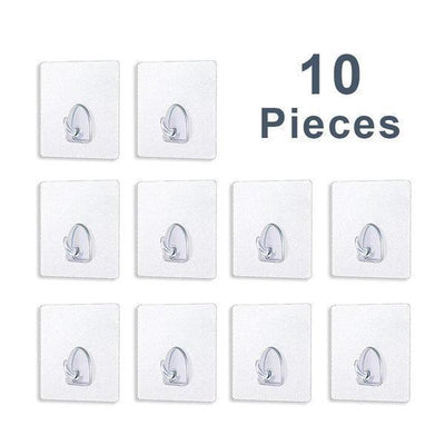 【BUY 2 GET EXTRA 10%OFF+FREE SHIPPING】Reusable Anti-skid Traceless Hooks (10 PCS)