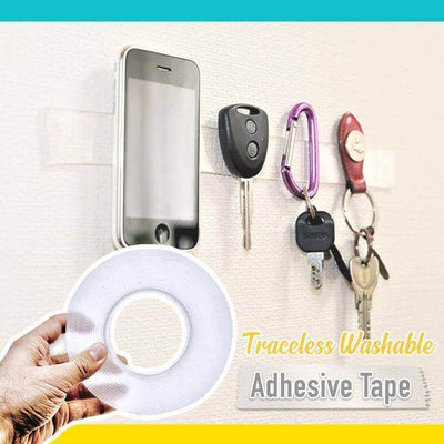 【50% OFF+FREE SHIPPING】Traceless Washable Adhesive Tape