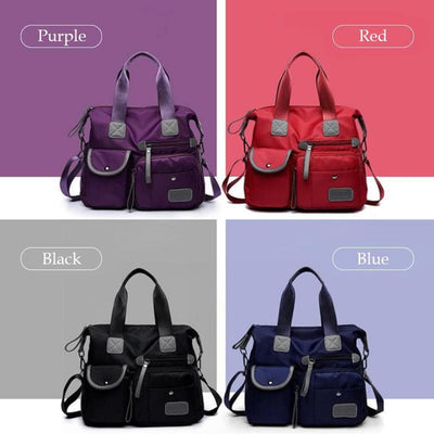 【LAST DAY 50% OFF + BUY 2 GET EXTRA 10%OFF】Women's Waterproof Nylon Handbag Bags