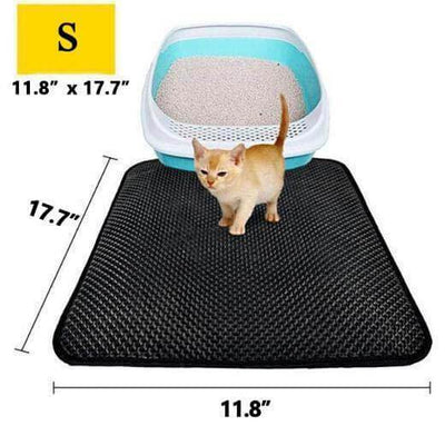 【50% OFF+FREE SHIPPING】Cat Litter Catcher Mat