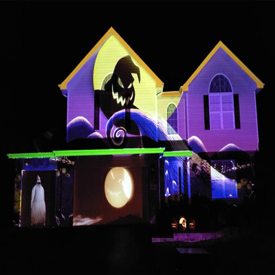 2020 Halloween House Projector