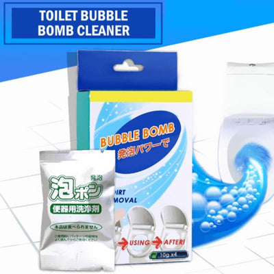 Toilet Bubble Bomb Cleaner(4PCS)
