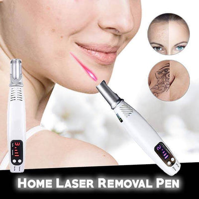 【50% OFF】Home Laser Removal Pen For Stretch Mark, Acne, Tattoos, Moles & Blemishes