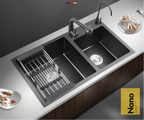 Black Kitchen Sink #1603