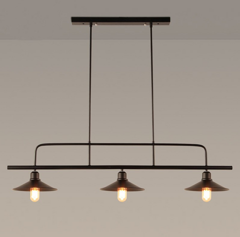 Loft Pendant Light Three Head #1809