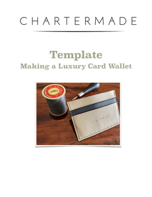 Luxury Card Wallet (Template) - PDF Download