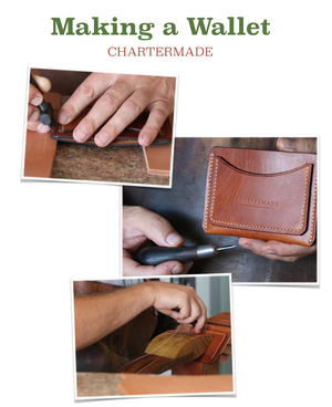 Leather Card Wallet (Template & illustrated instruction) - Project