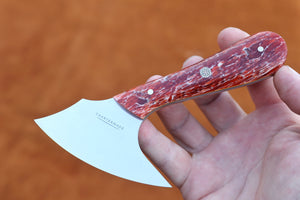 Crimson Affection Pattern Knife