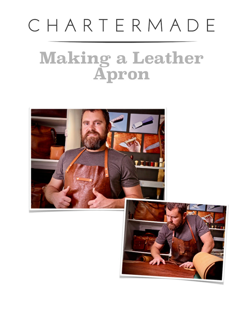 Leather Apron Pattern - PDF Download