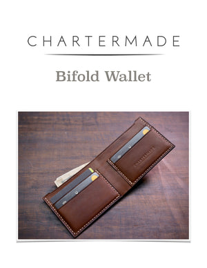 Bi-fold Wallet Pattern with Illustrated Instruction Manual