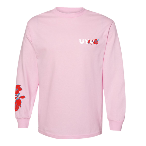 UYU Hibiscus Long Sleeve Tee