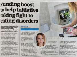 Funding Boost will Help Reach Those Suffering from Eating Disorders
