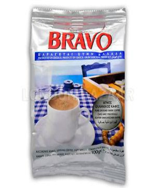 BRAVO COFFEE GREEK 100 GRM