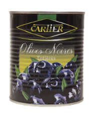 Cartier Olives Noires Entieres 850ml