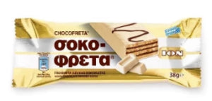 Chocofreta white chocolate wafer 38g