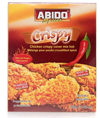 ABIDO CRISPY MIX HOT 500G