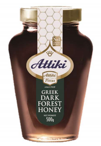 Attiki Dark Brown forest honey 500g