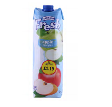 FRESH APPLE 1L