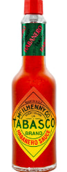 Tobasco Habanero sauce 60ml