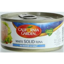 CG tuna water and salt 185g