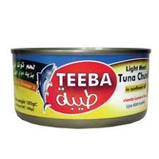 TEEBA TUNA CHUNK IN BRINE