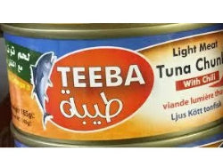 TEEBA TUNA CHUNK WITH CHILLI