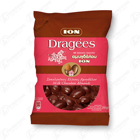ION DRAGEES WITH ALMOND 200G