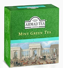 AHMAD GREEN MINT TEA BAGS
