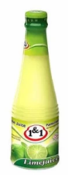 1&1 LIME JUICE 330ML